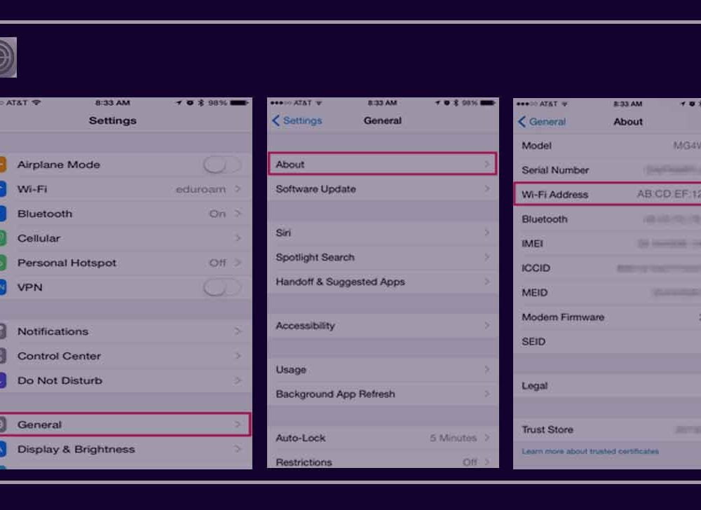Mac Address on iPhone – How to Find Instantly