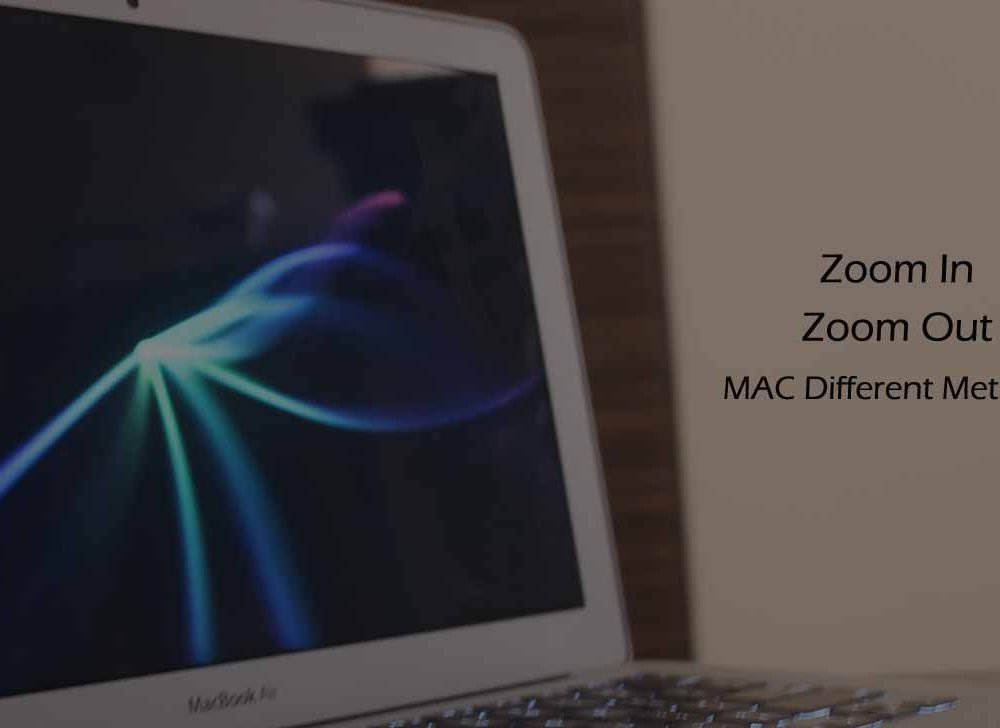 How to Zoom In and Out on a Mac (4 Methods / New Shortcuts*)