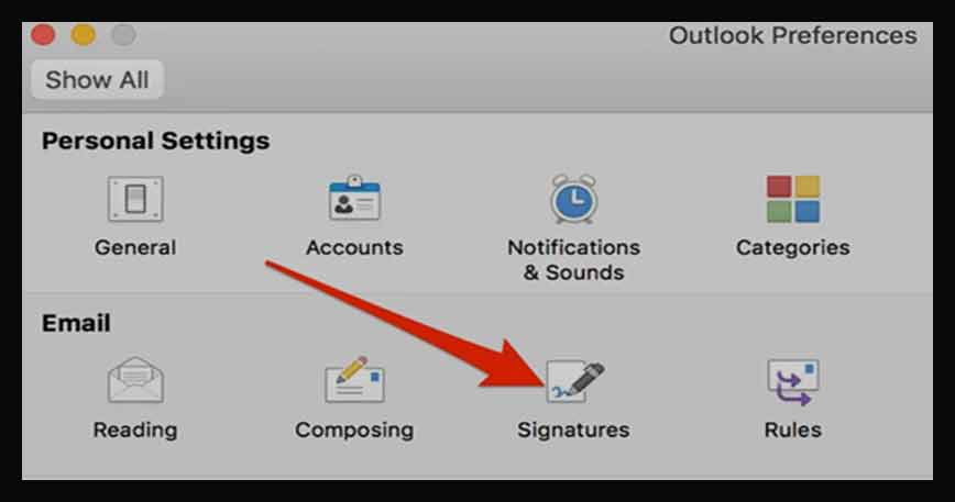 How to Add Signature in Outlook for MAC, Windows or Web